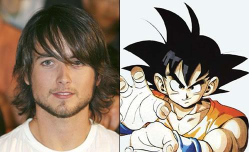 Justin Chatwin como Goku